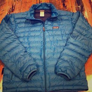 Patagonia Men's Down Sweater Jacket, Like New.